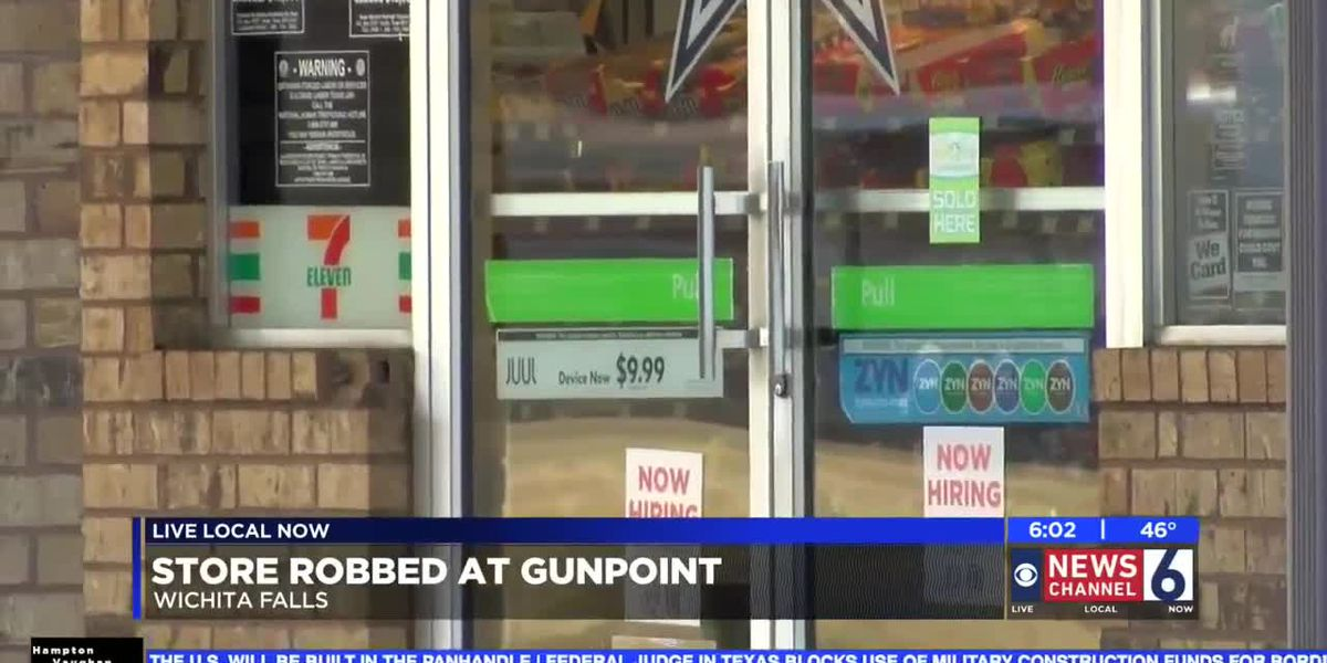 WFPD: 7-Eleven robbery suspects left in blue Challenger