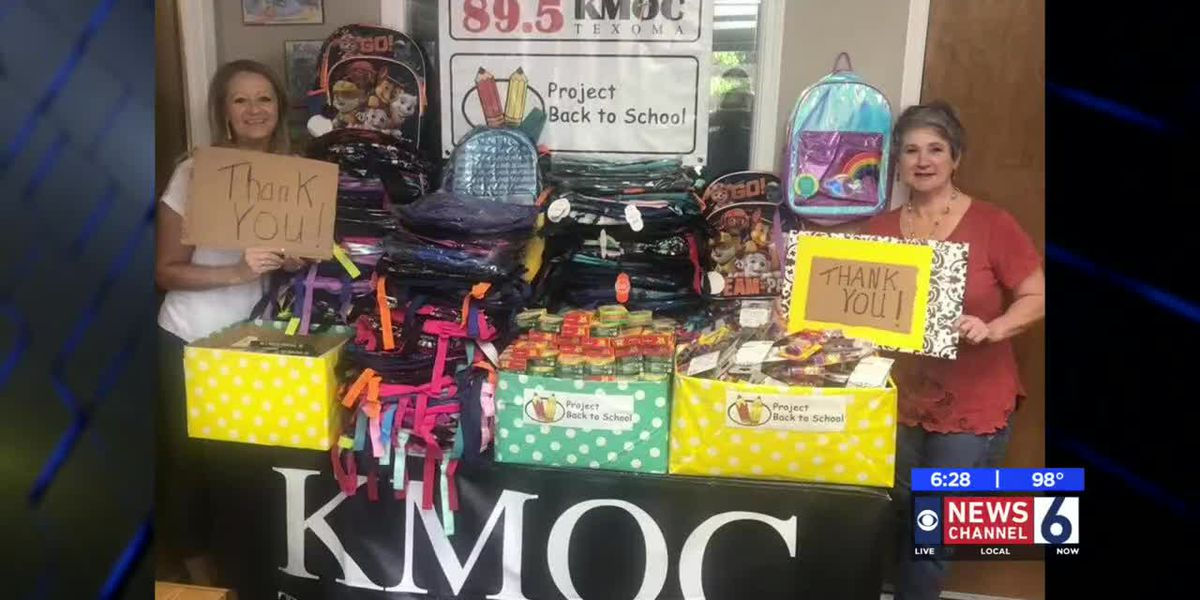 Local radio station's school supply drive successful