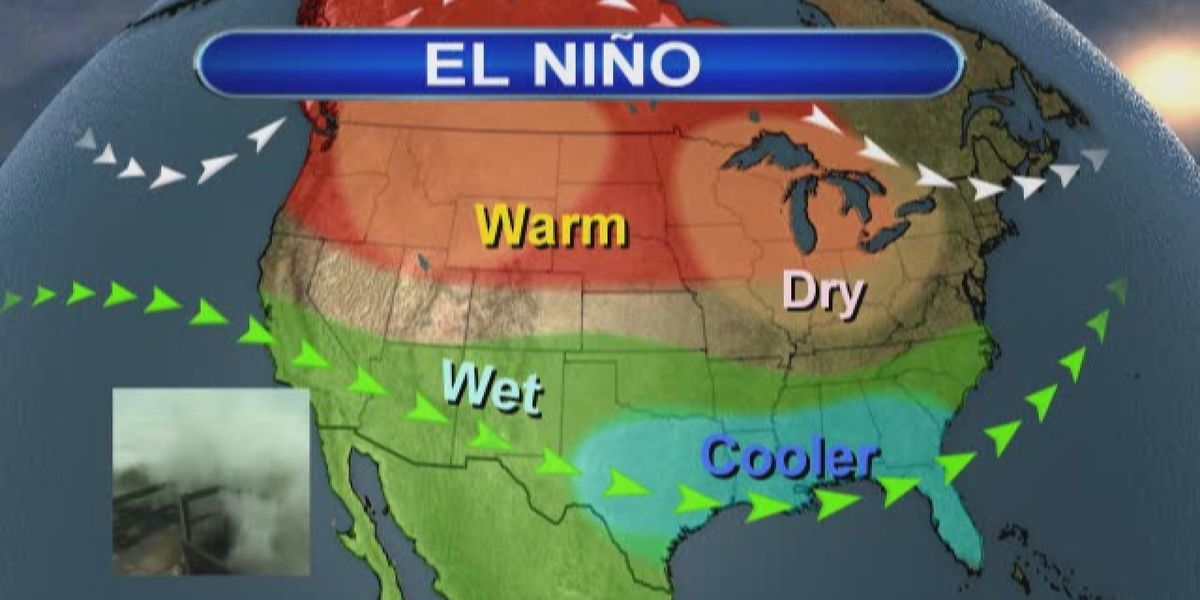 How does the Climate Prediction Center determine an El Niño pattern?