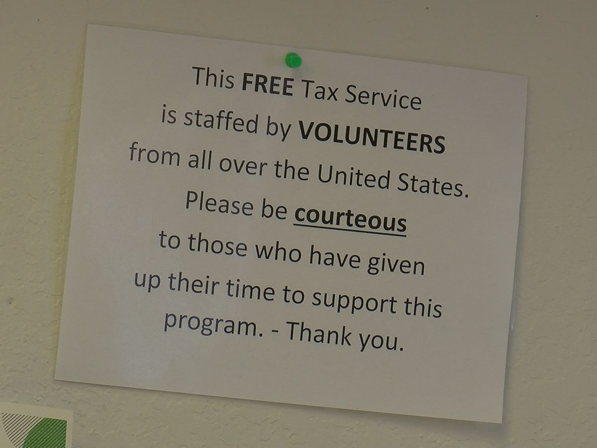 Volunteers from across the country helping Texomans do taxes