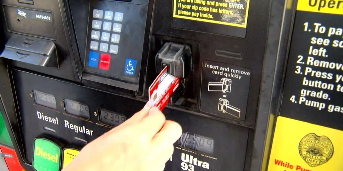WFPD warn public of credit card skimmers
