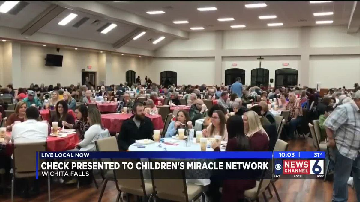 Children's Miracle Network gets big donation