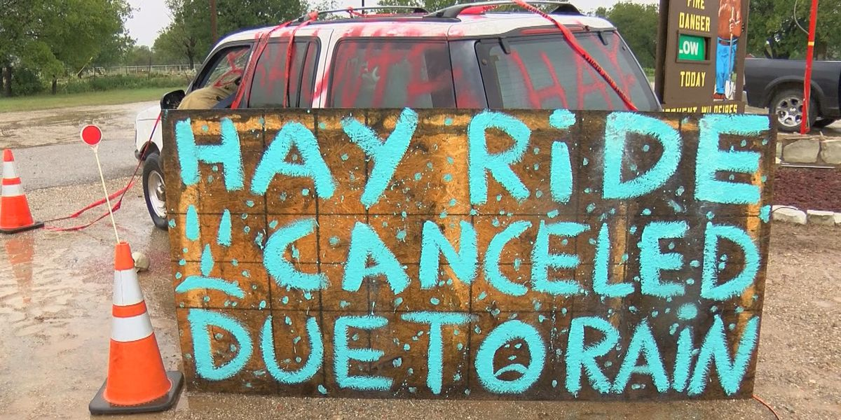 Bowman's Haunted Hay Ride postponed due to weather concerns