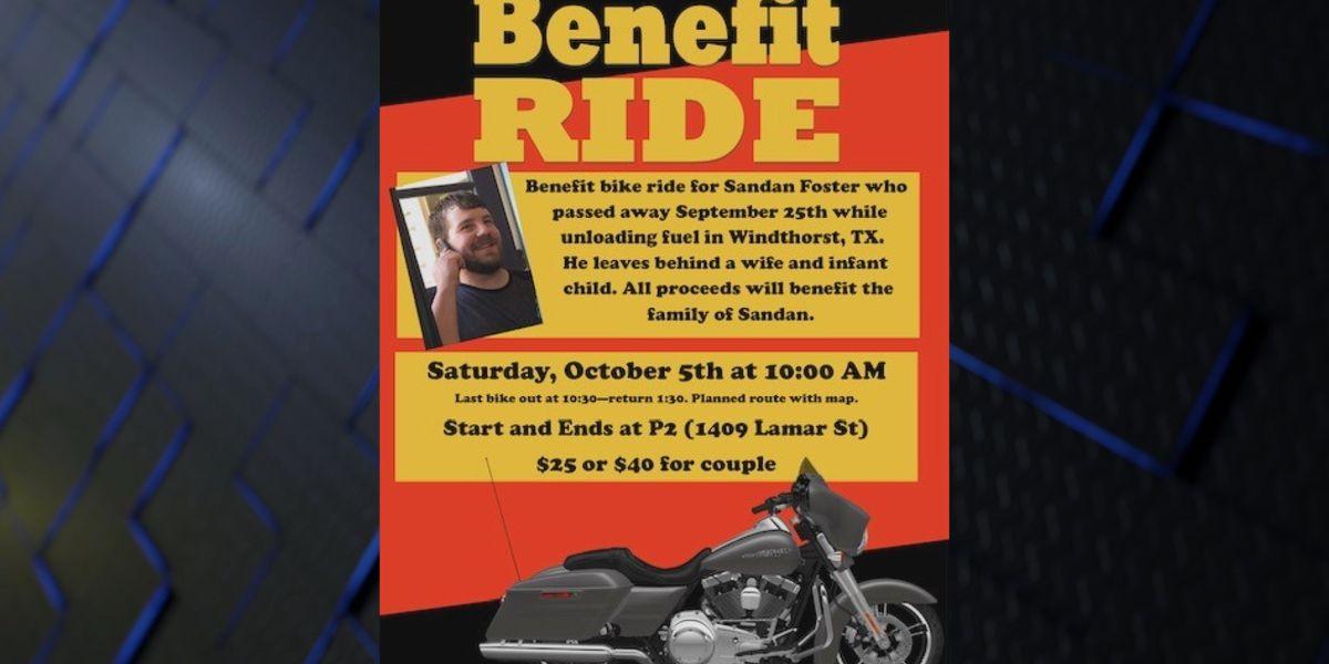 Benefit bike ride for Windthorst tanker fire victim's family