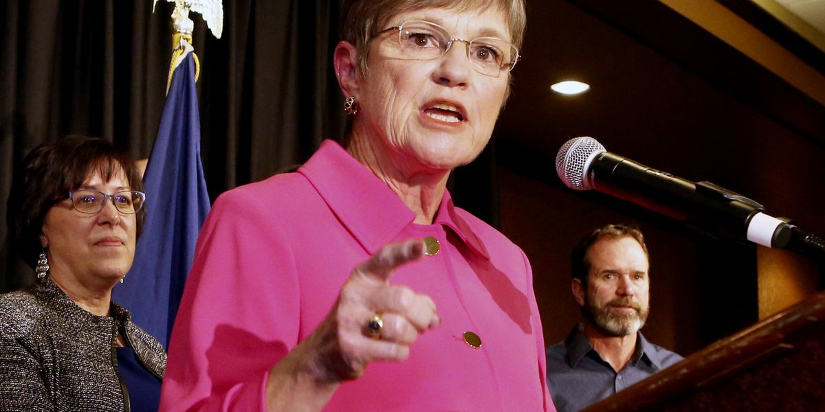 New Kansas governor faces skeptical GOP-led Legislature