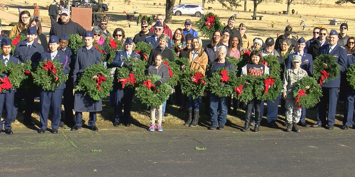 Wreath laying event strengthens family