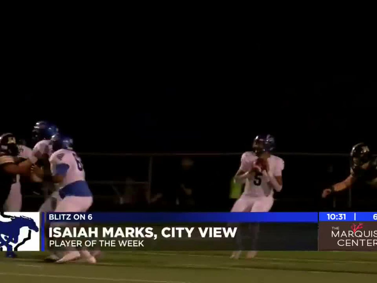 Isaiah Marks named Blitz on 6 Player of the Week