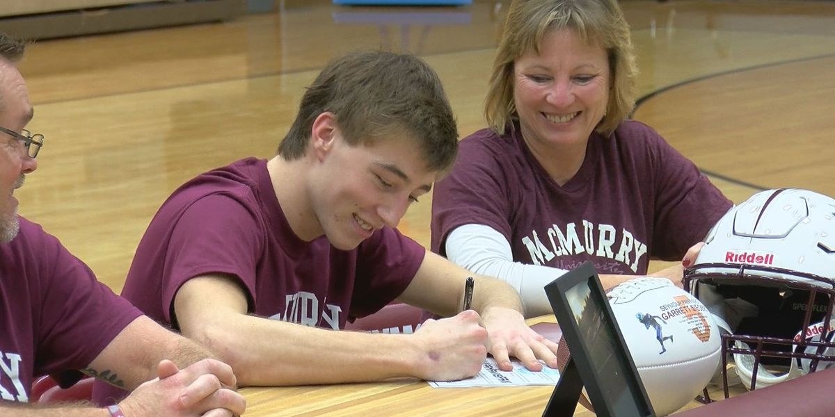 Seymour's Siegert signs with McMurry for football