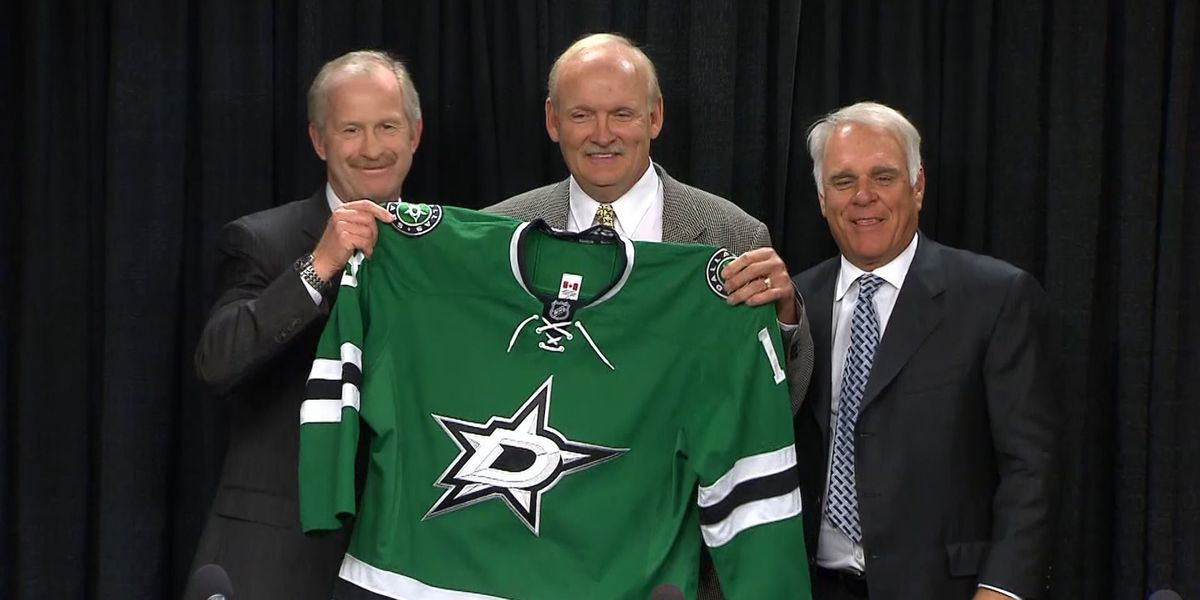 Stars Introduce Lindy Ruff as Next Coach