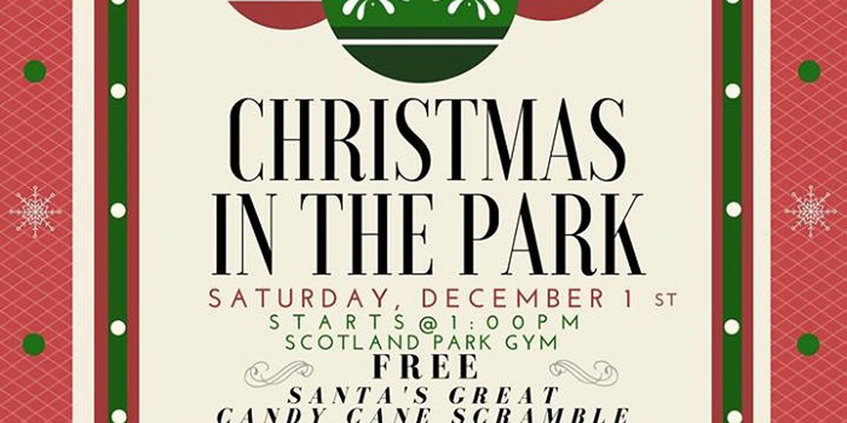 Santa is coming to town for annual Christmas in the Park