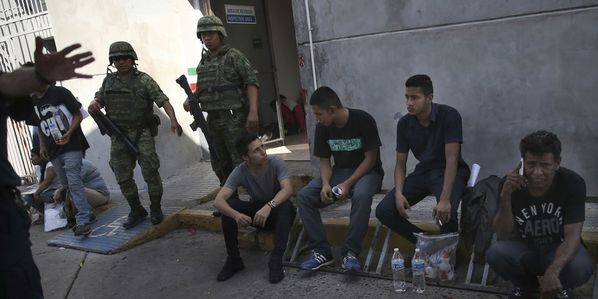 Confusion, fear reigns on Mexico border with new US policy