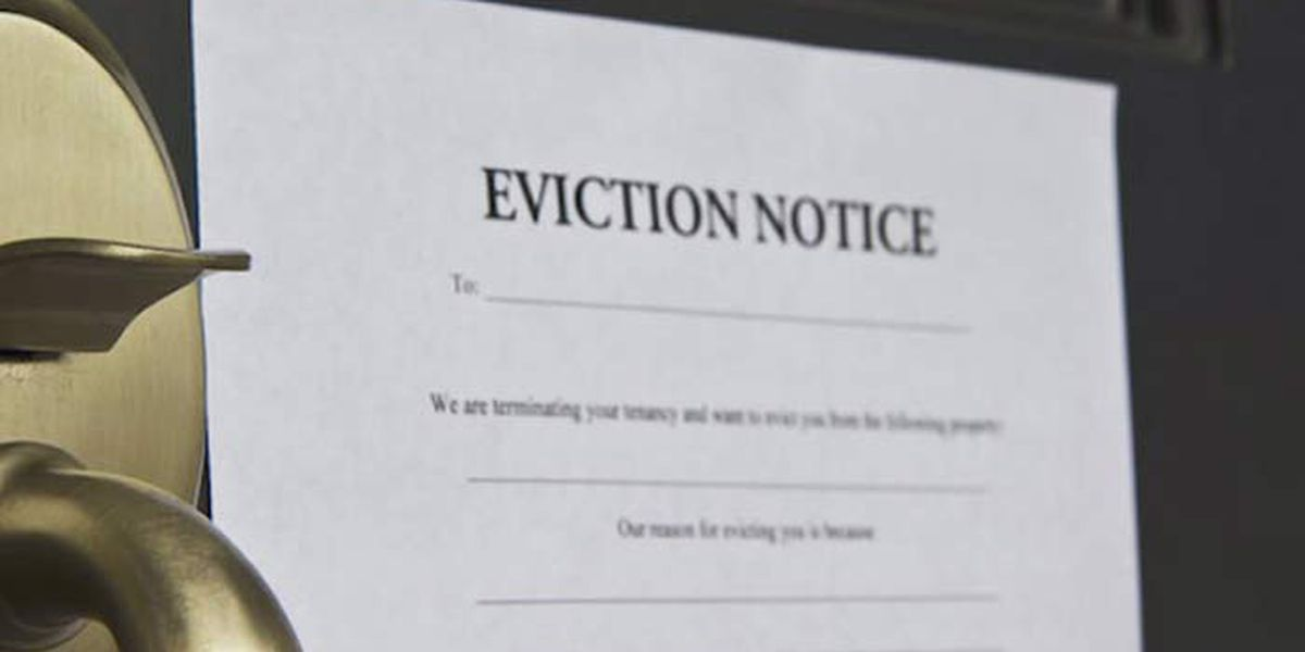 Evictions paused through January, WF officials preparing for influx of filings