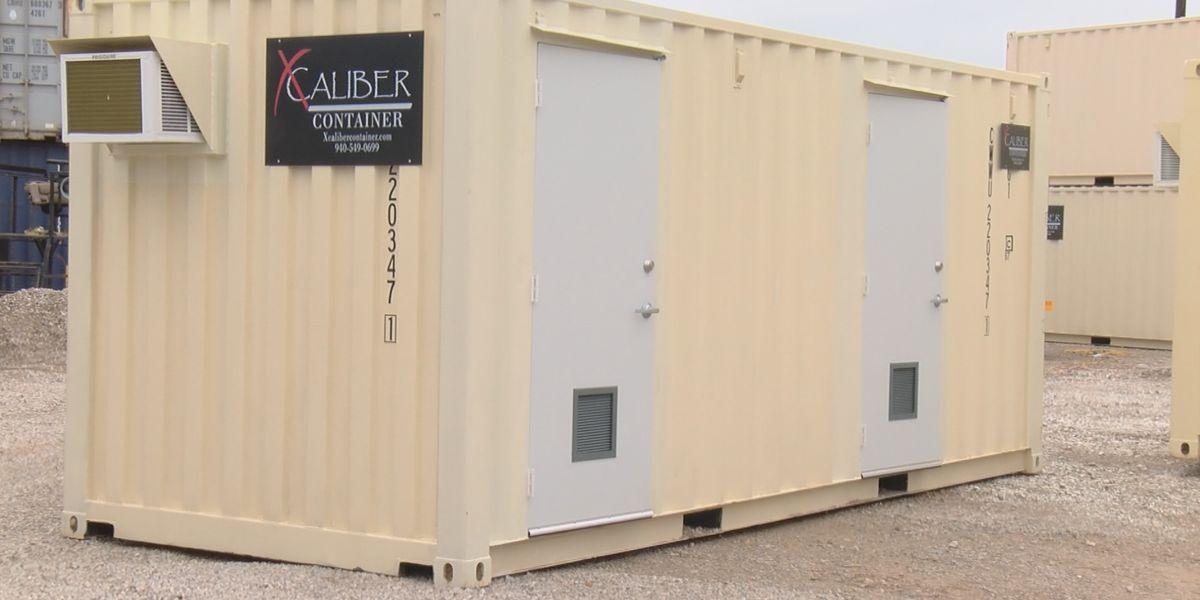 Graham container company building coronavirus testing pods