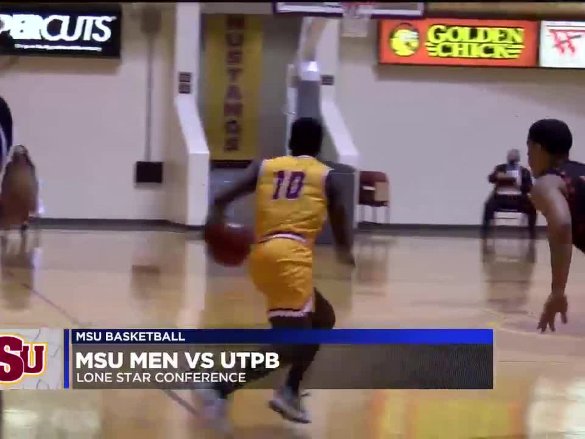 MSU men looking to keep playoff hopes alive against UTPB