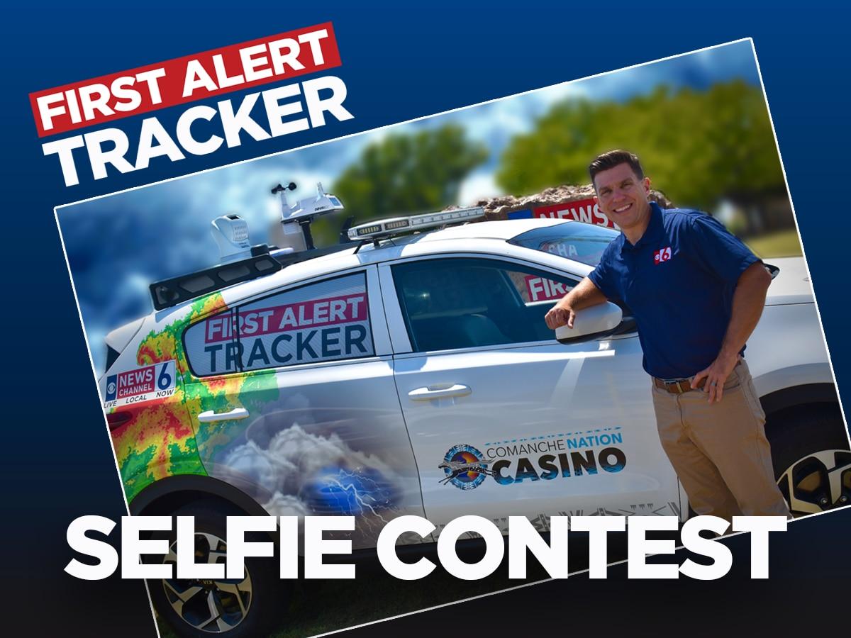 First Alert Tracker Selfie Contest winners