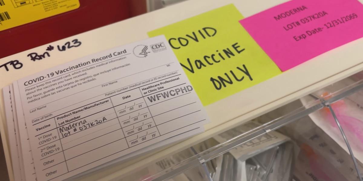 COVID-19 vaccines are still hard to come by in Wichita county