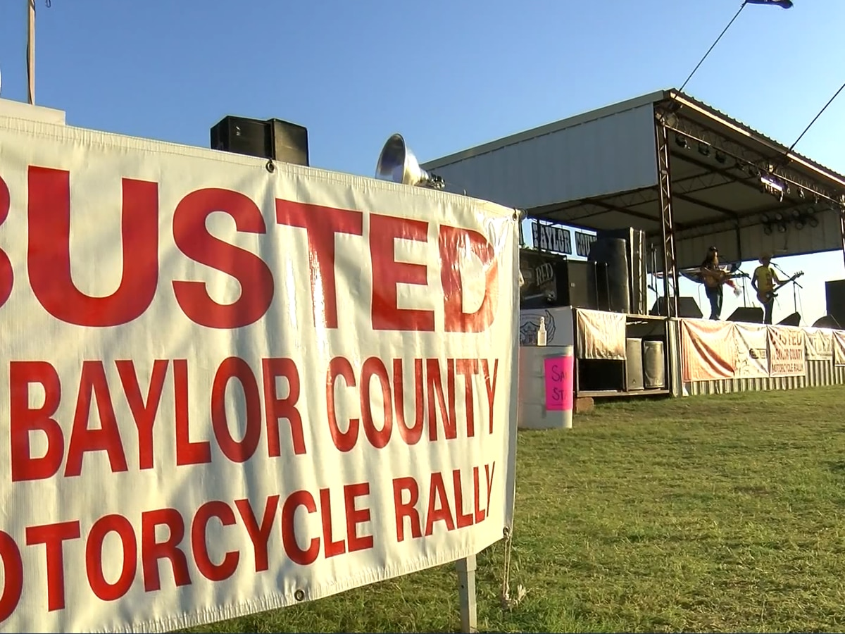 Busted in Baylor County now underway