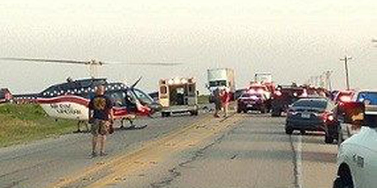 Multi-Vehicle Accident in Archer Co.